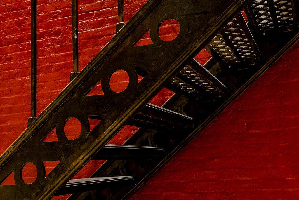 Jail House Stairway No 1