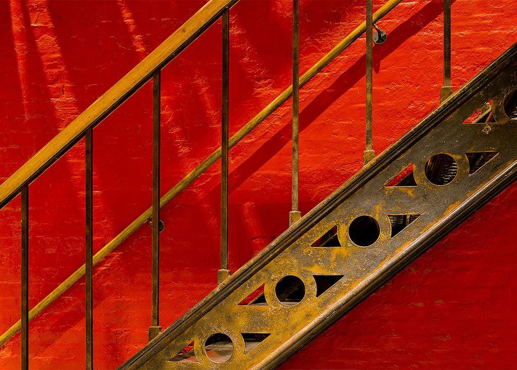 Jail House Stairway No 2