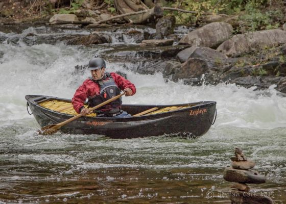 Canoe on the Rapids