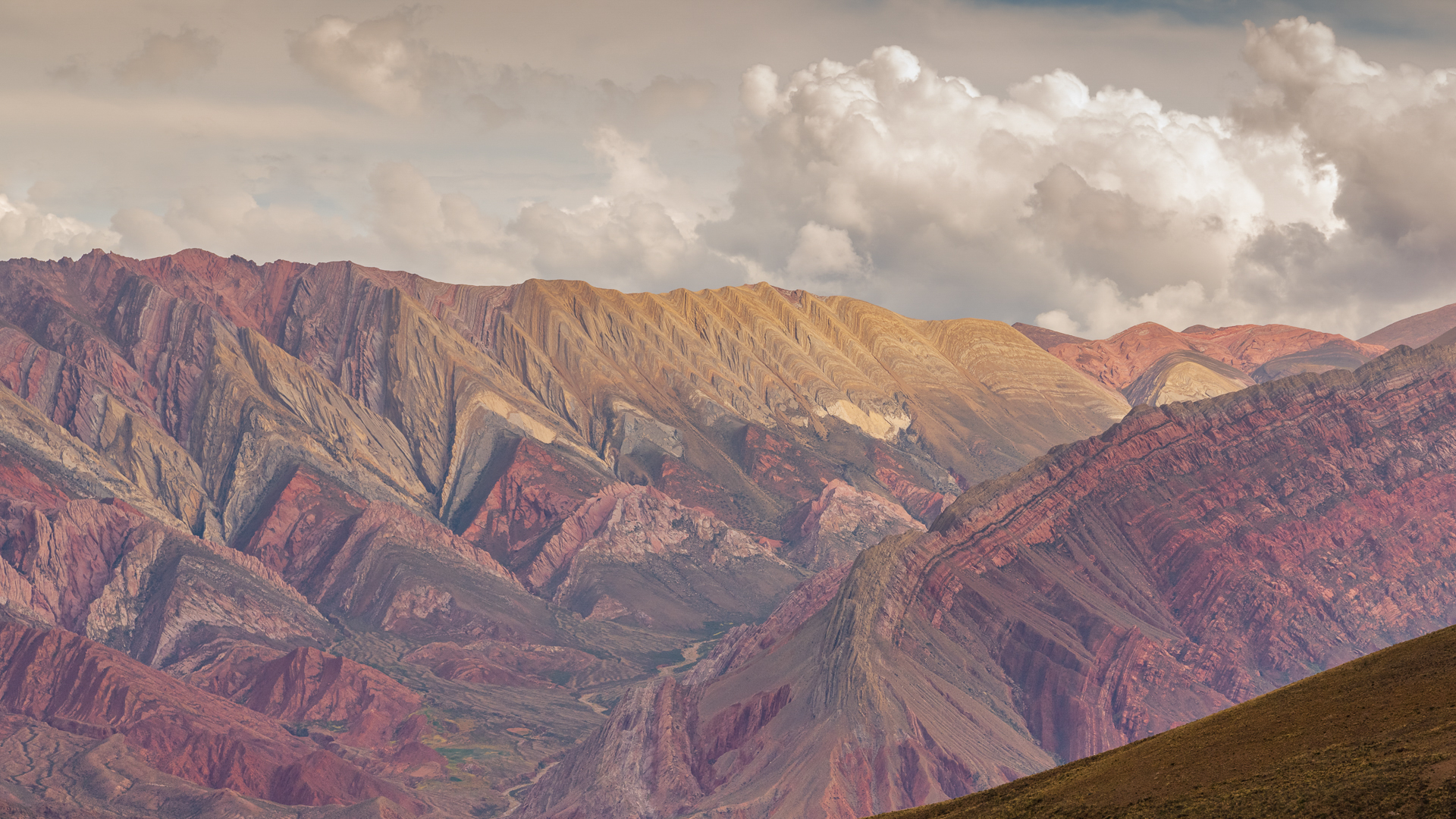 Seven color mountain argentina