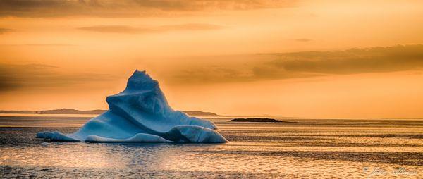 Iceberg off Fogo Island, NL