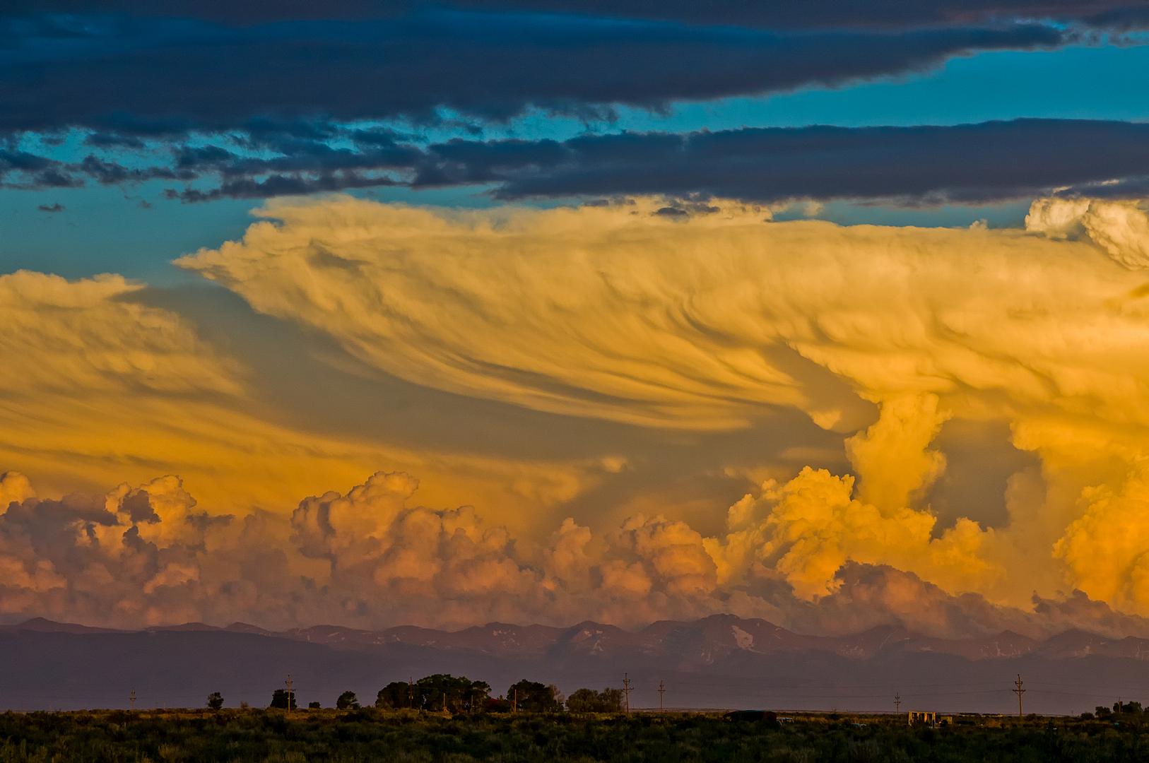 Colorado evening storm