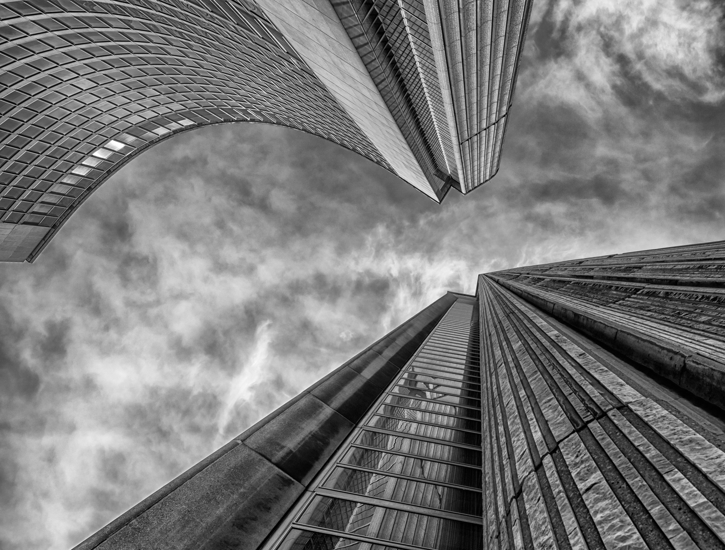 Curved Towers in Contrast