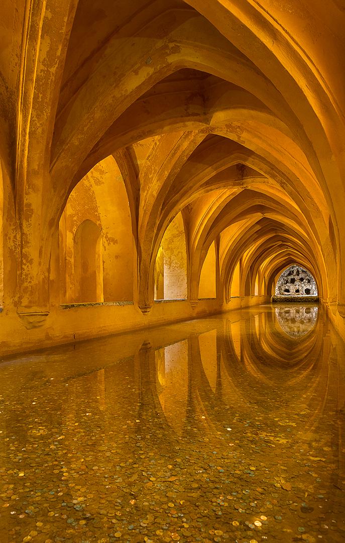 Baths at Real Alcazar
