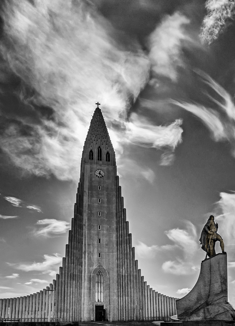 Reaching for the heavens..Hallgrims Church