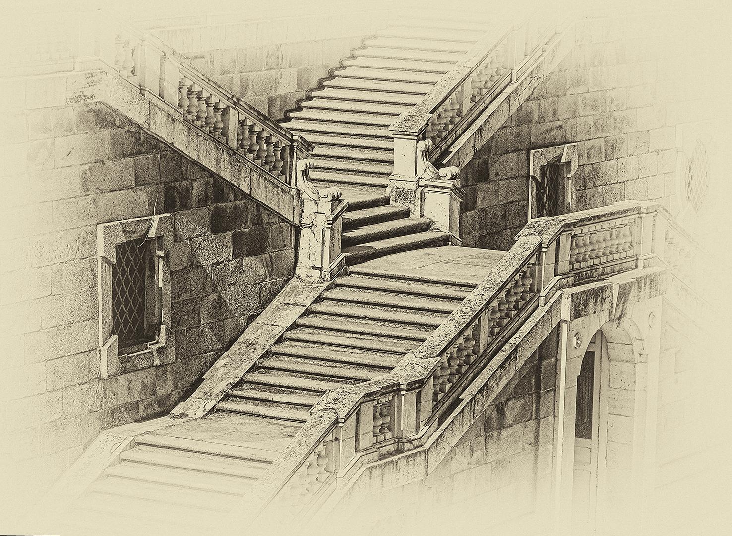 Madrid Church Staircase