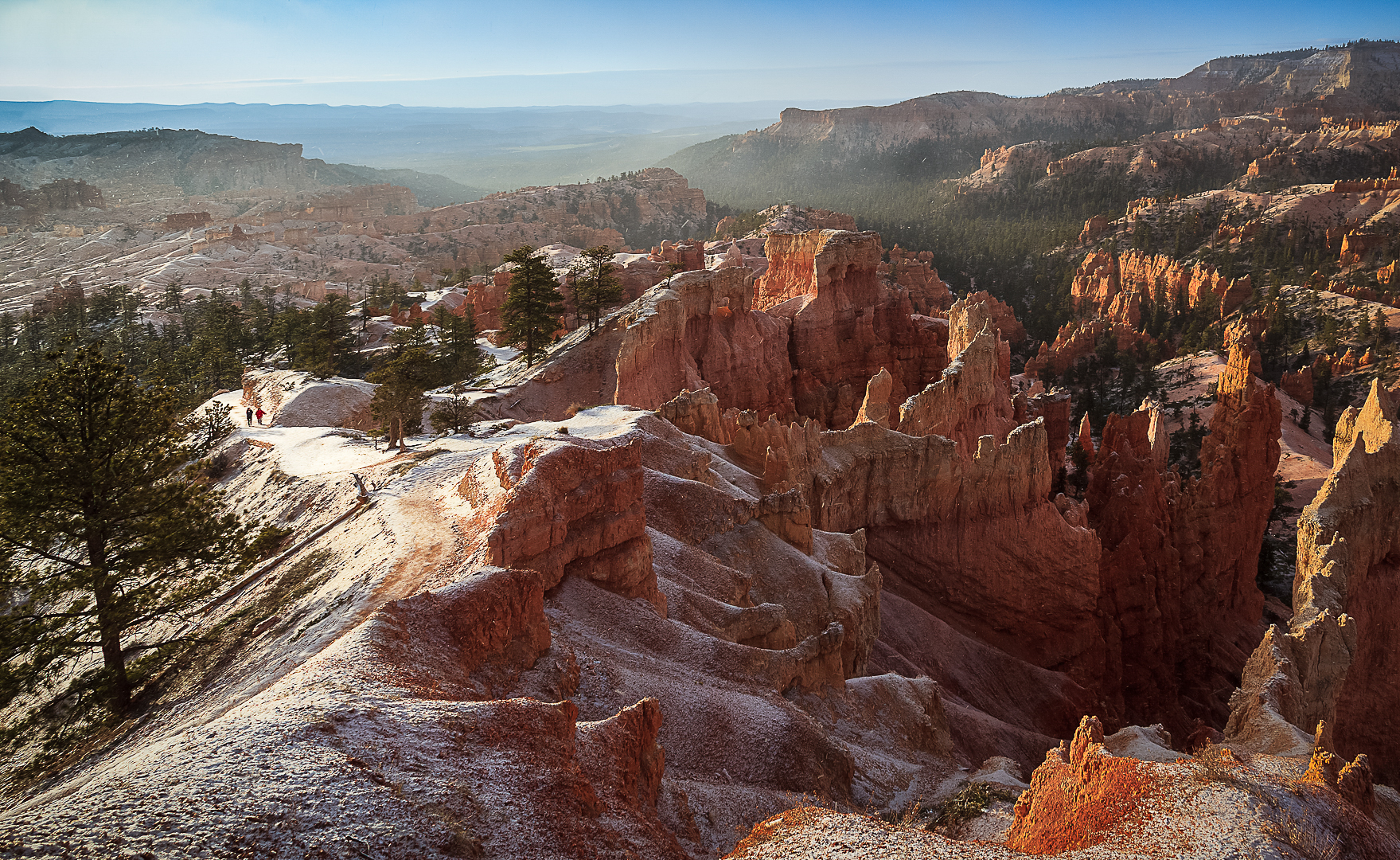 Early Morning Snow at Bryce Canyon