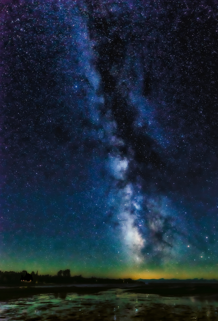 Milky Way at Singing Sands