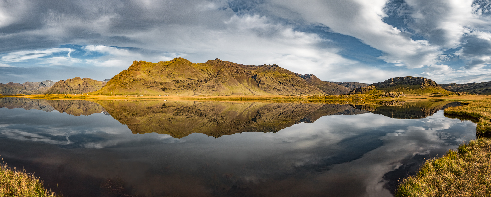 Inland Icelandic Lake