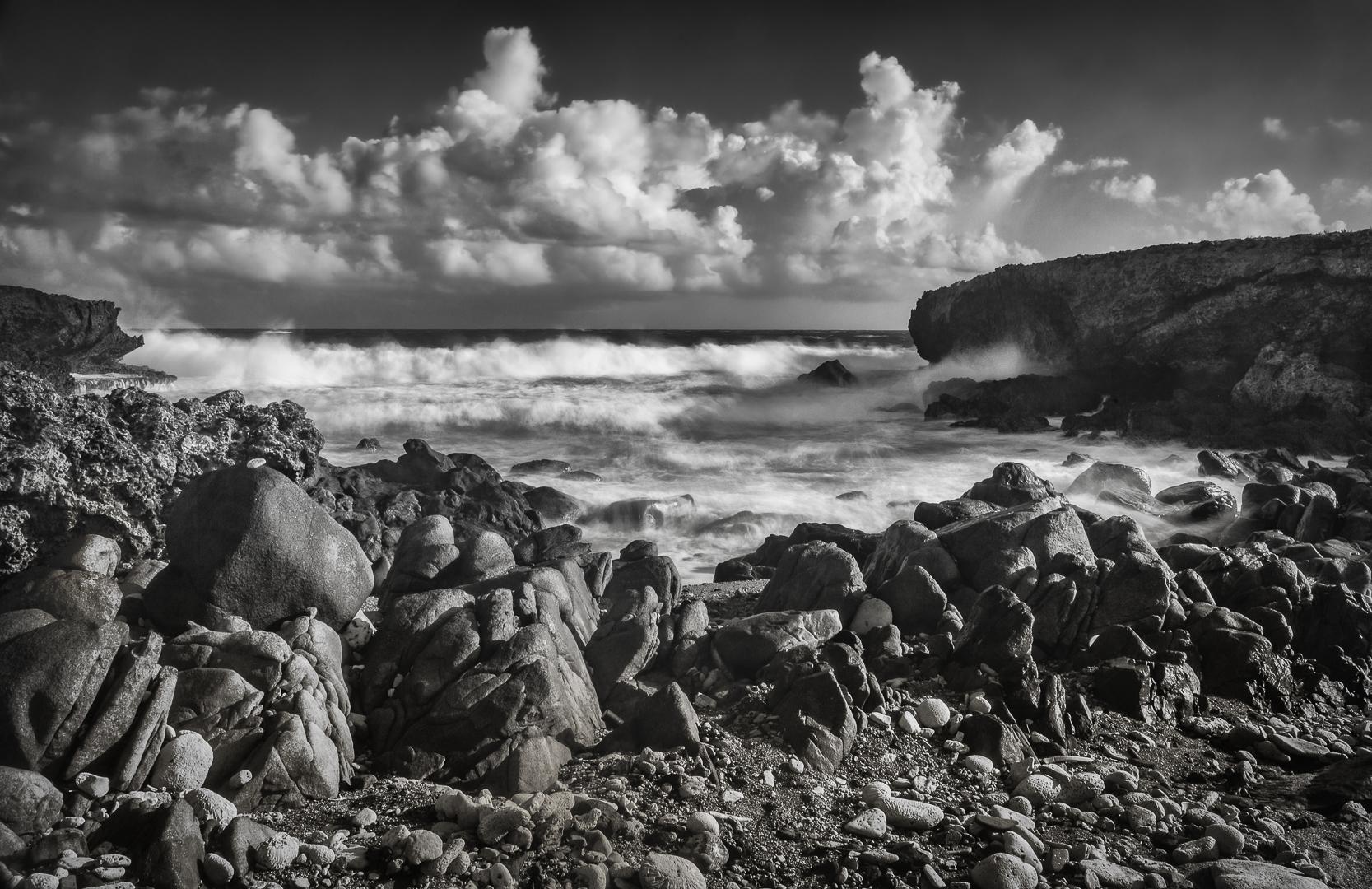 Aruba Rocky Beach