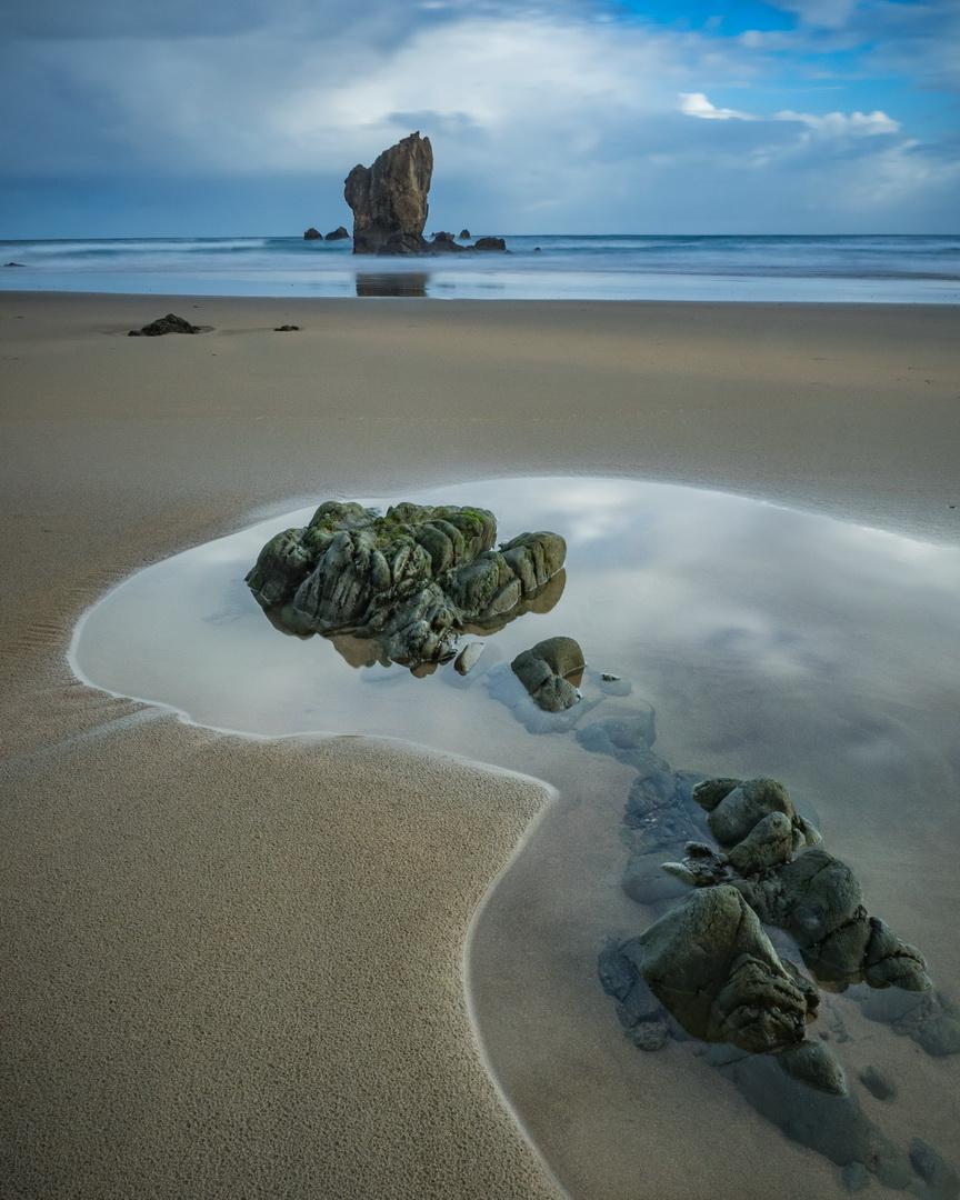 Low tide, northern Spain