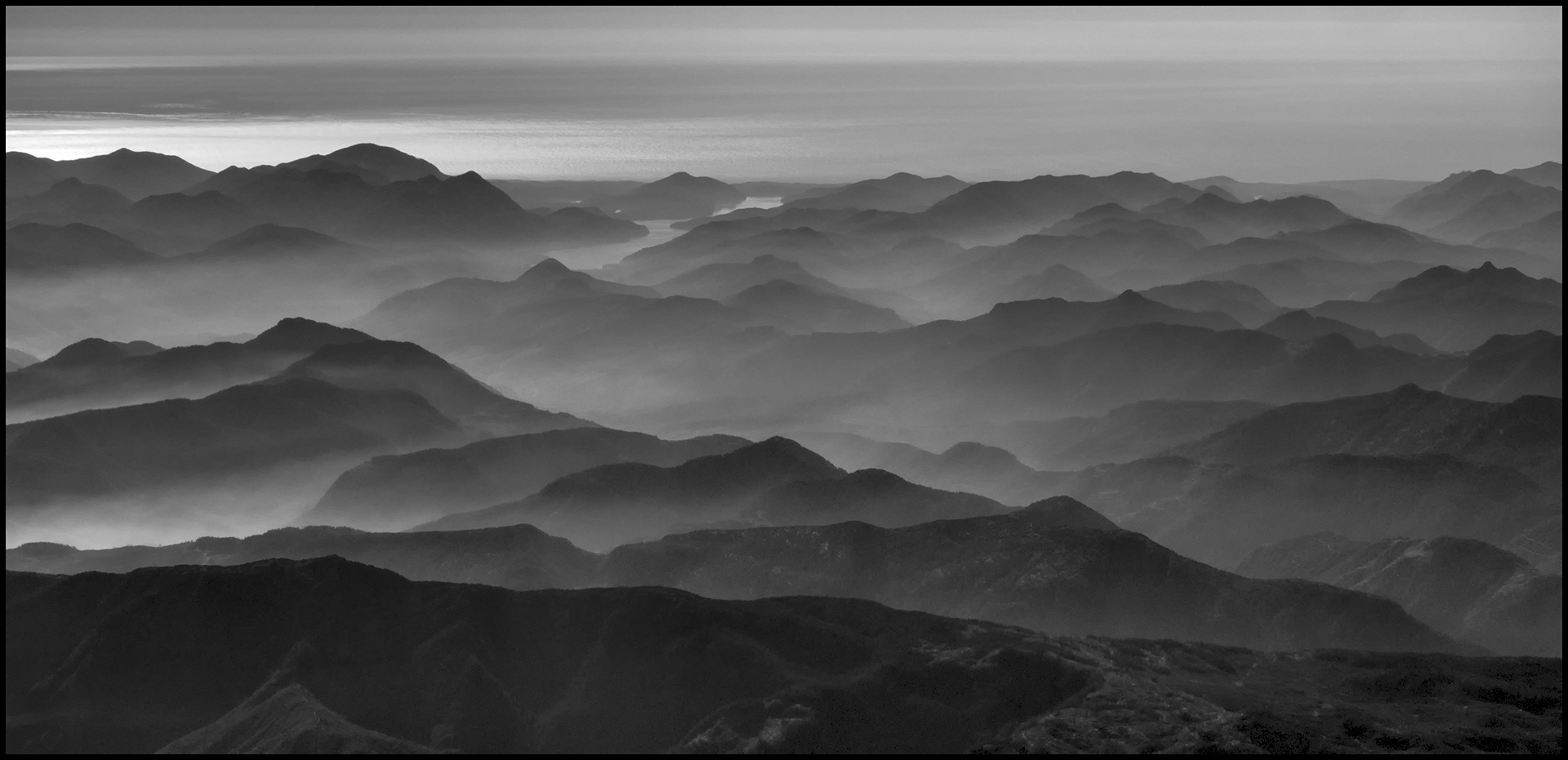Mountains at Dawn