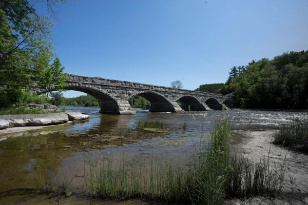 Pakenhalm - Stone Bridge, unique in North America