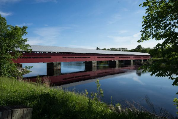 Port Coulonge - Covered Bridge, 2nd longest in Que