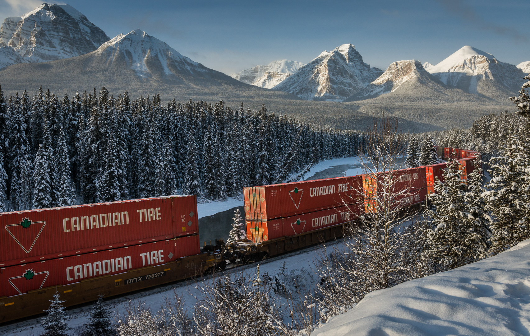 Transportation in Rocky Mountains