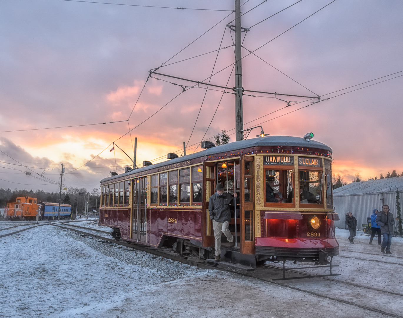 Riding the Old Time TTC Trolley
