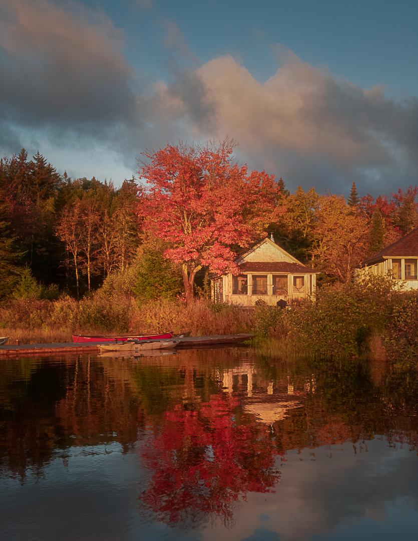 Northern Maine Golden Hour