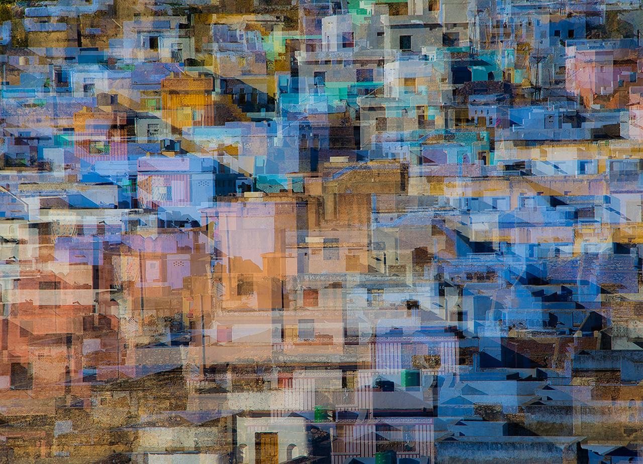 Rajasthani desert town