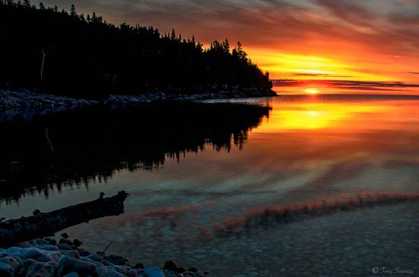 Sunrise at Little Cove