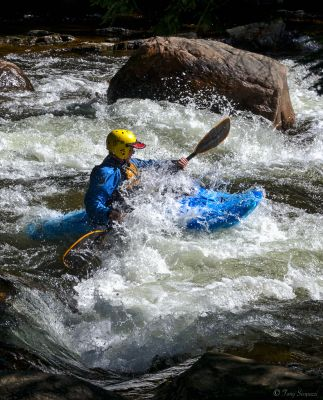 Challenging the Minden Whitewaters